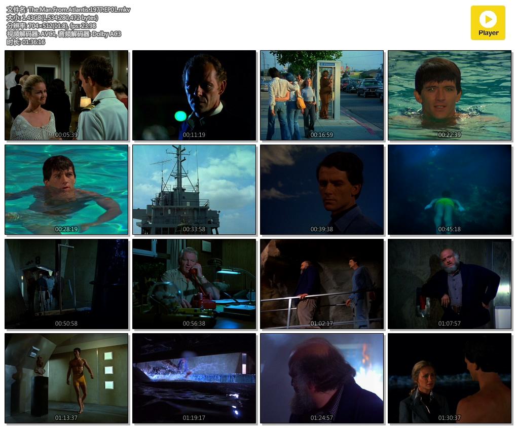 [经典译制片][大西洋底来的人](英文名:The Man from Atlantis)[1977][高清][国语][全集]